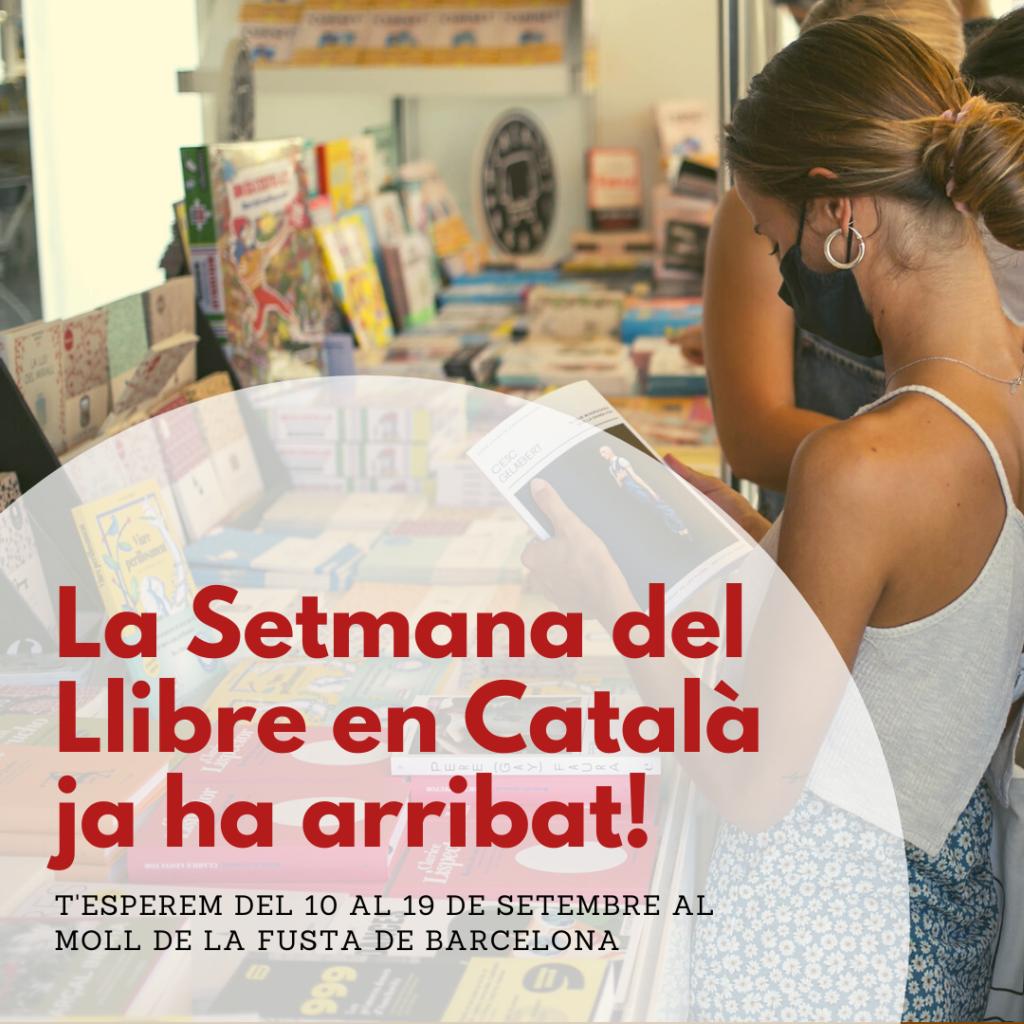 Portada de la Setmana del Llibre en Català